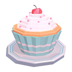 the cake polygon