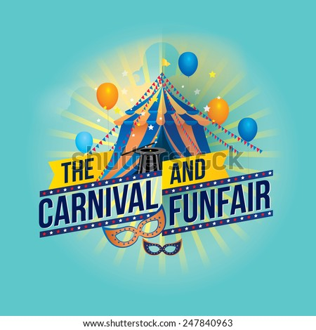 the carnival funfair and magic