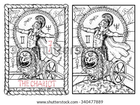 the chariot  the major arcana