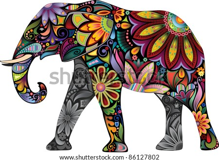 the cheerful elephant the
