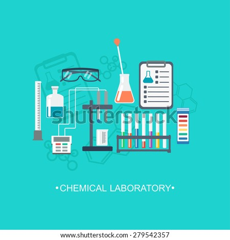 the chemical background  banner