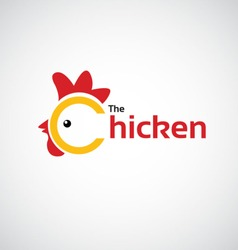 The Chicken icon design