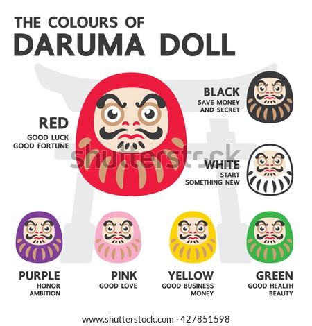 the colours of japan daruma