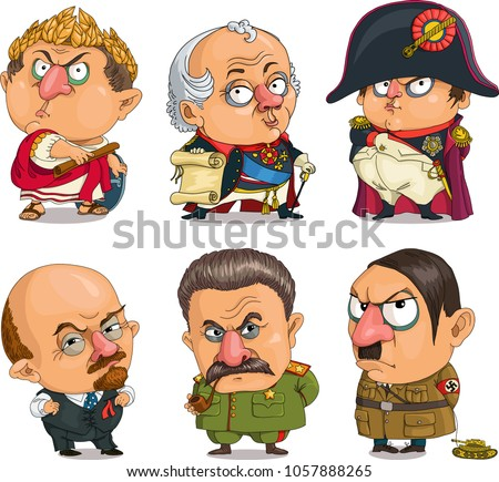 the comic caricature vector