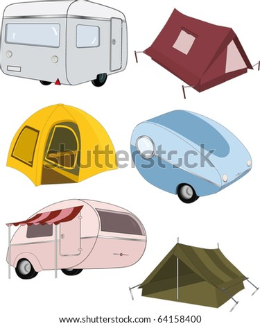 The complete set camping