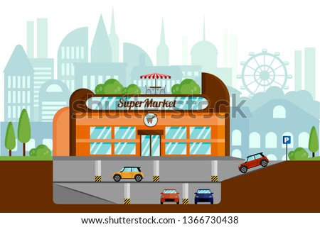 the concept of a supermarket