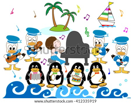 the concert of a sailor and the
