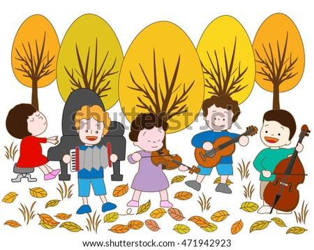 the concert of autumn children