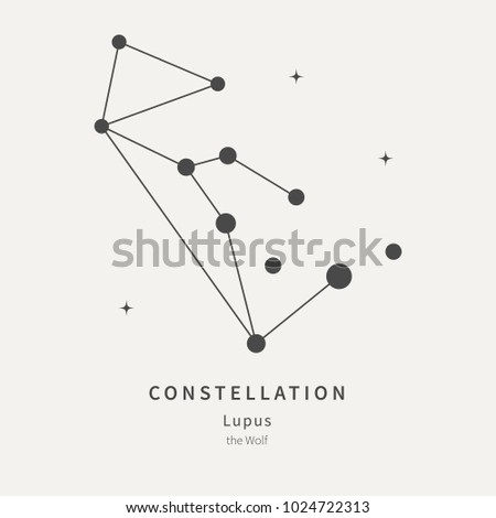 the constellation of lupus the