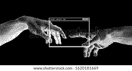 the creation of ai  the hands