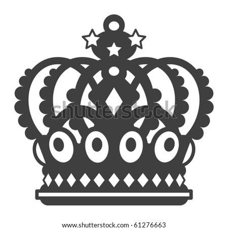 The crown, vector illustration