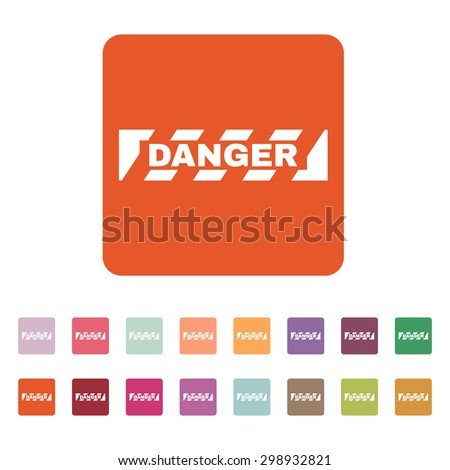 the danger icon caution and