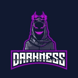 The Darkness Esport Logo Template