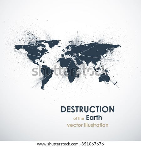the death of the earth vector