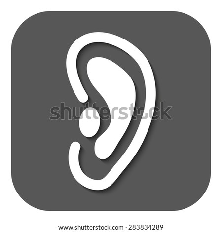 Listen Ear Icon The Ear Icon Listen Symbol