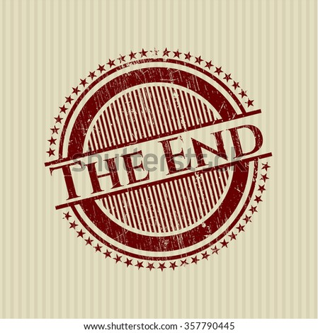 The End rubber texture