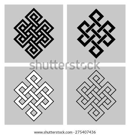 the endless knot sacred symbol