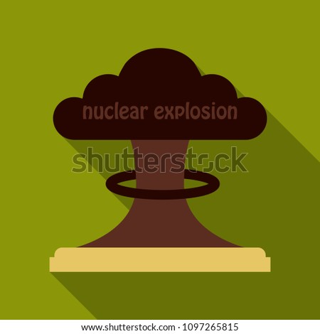 the explosion of the atomic