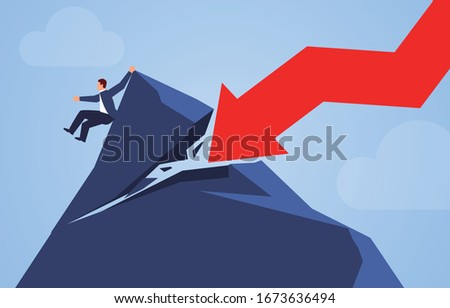 the falling arrow destroyed the