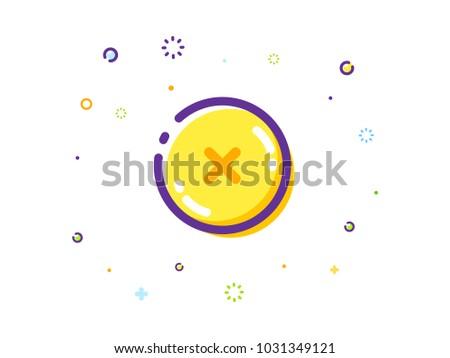 The False Button Illustration