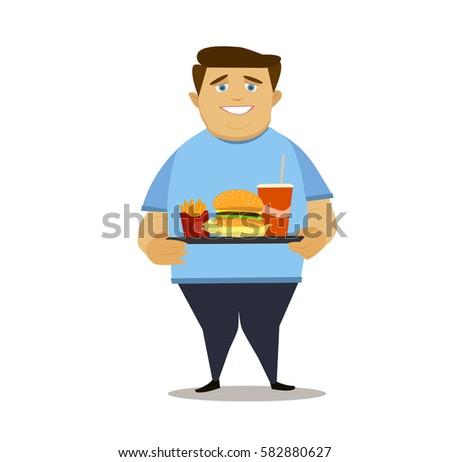 Fat Guy Vector - Download Free Vectors, Clipart Graphics