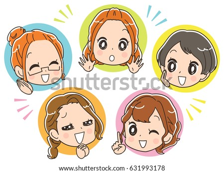the female group is enjoying it