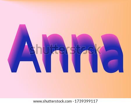 the female name