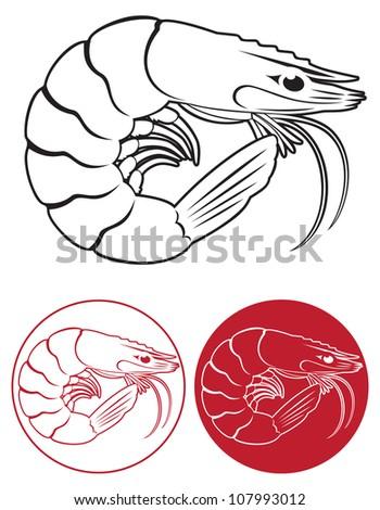 the figure shows a shrimp