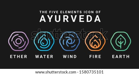 the five elements icon of