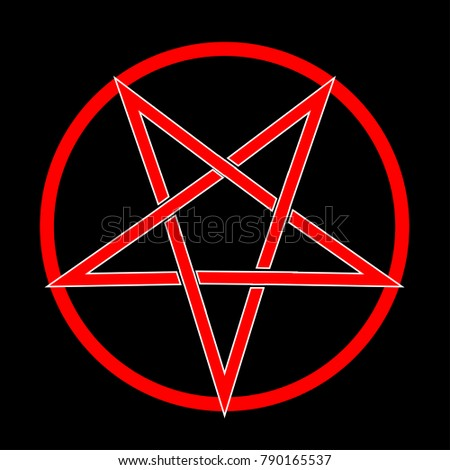 Royalty Free Baphomet Star Reversed Pentagram 327207917 Stock