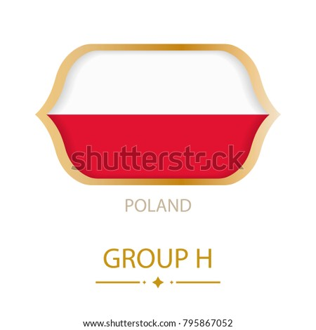 the flag of poland is made in