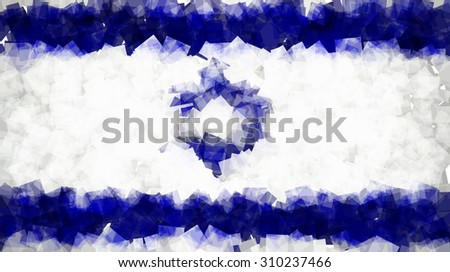 the flag of the state of israel
