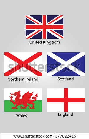 the flags of british northern