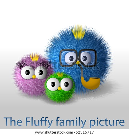 The fluffy family picture