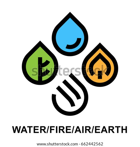 the four natural elements