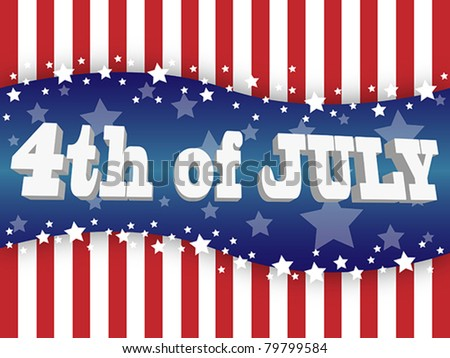 The fourth of july independence day