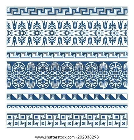 The Frames of ancient Greek style