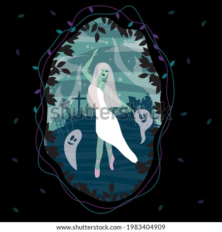 the ghost of a ballerina in the