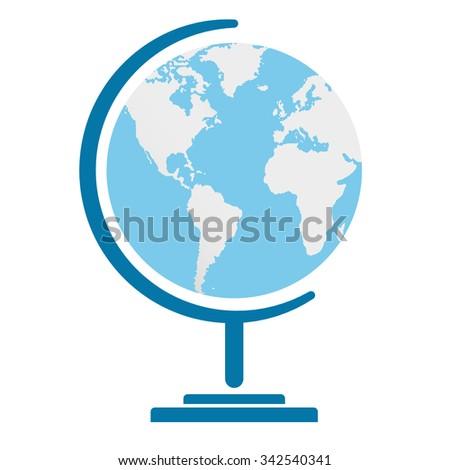 The globe icon