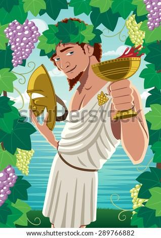 the god of wine dionysus
