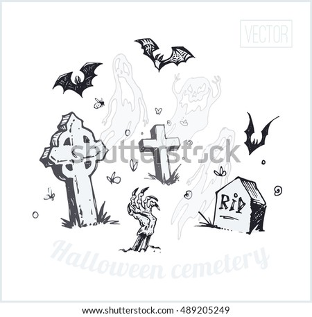 the graves  ghosts  bats and a
