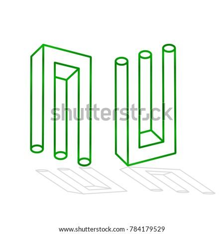 the green deception fork  3d