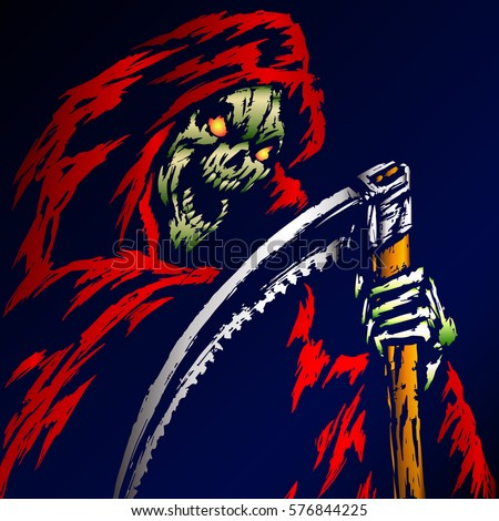 the grim reaper scary horror