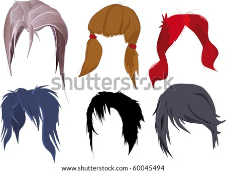 the hair dress complete set