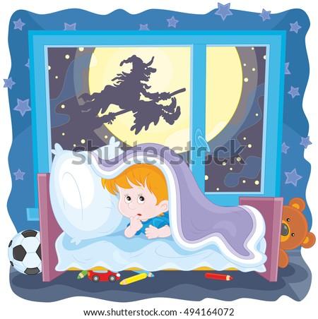 the halloween night  a little