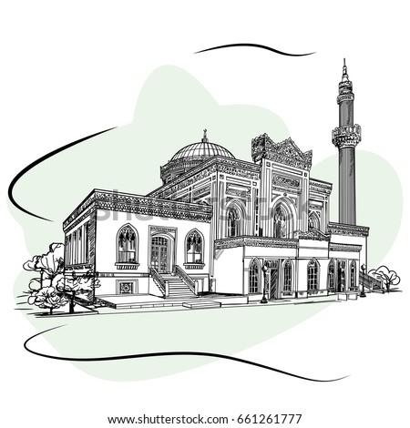 the hamidiye mosque is an