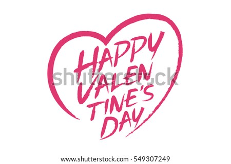 the happy valentine day color