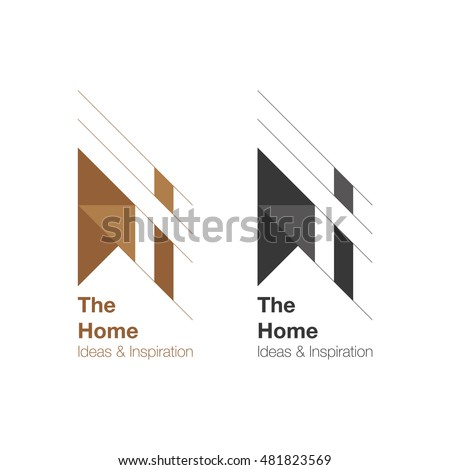 The Home And Interior Logo