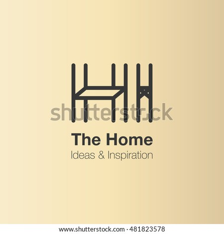 Shutterstock puzzlepix for Interior design logo inspiration