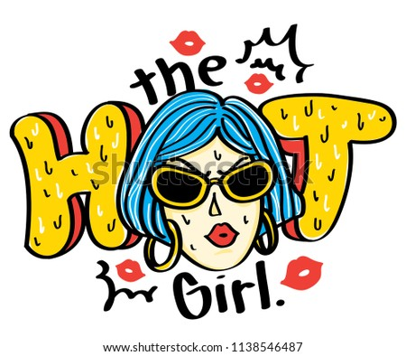 the hot girl